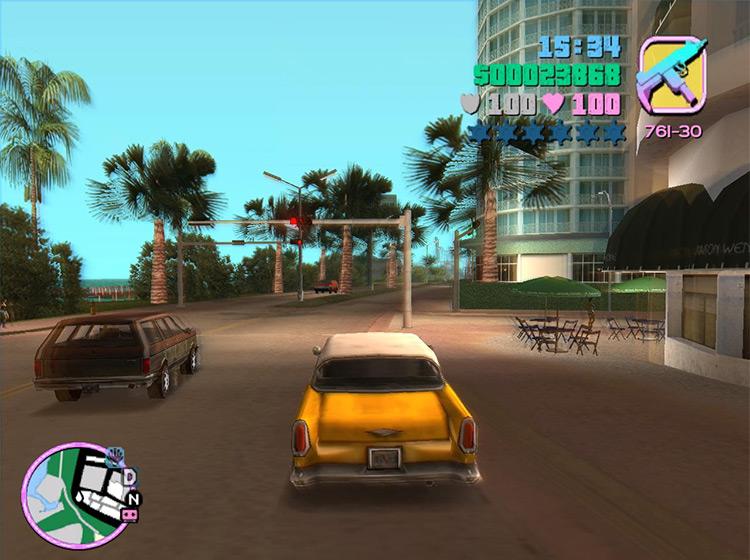 Vice City Trails Mod screenshot