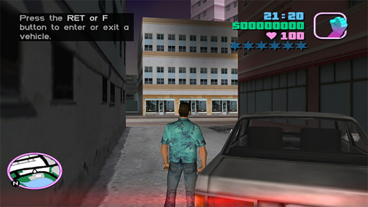 Widescreen Fixes GTA Vice City Mod