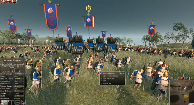 Baktria Total War: Rome II Faction