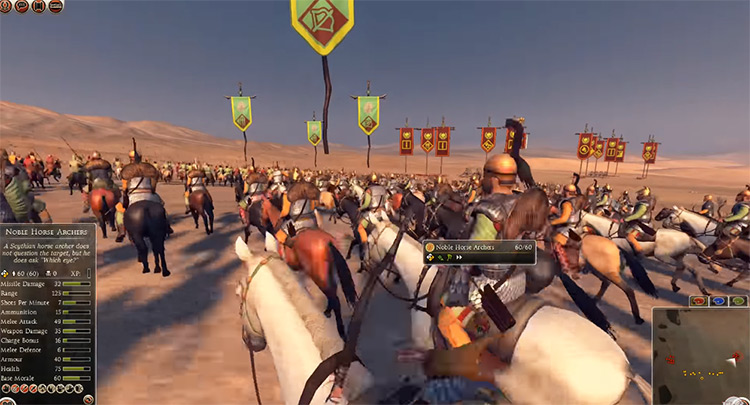 Massagetae in Total War: Rome II