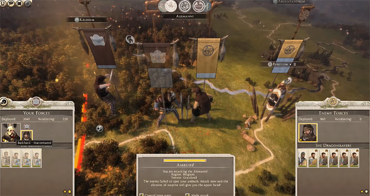 Marcomanni Total War: Rome II Faction
