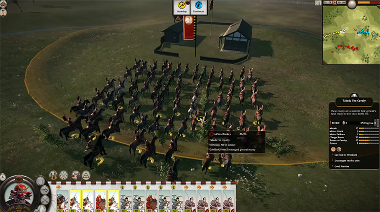 Takeda Clan Total War: Shogun 2 Faction