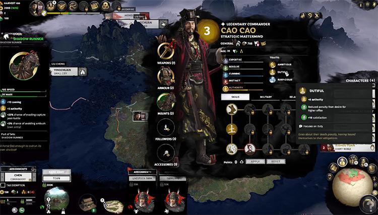 Cao Cao Total War: Three Kingdoms Faction Leader