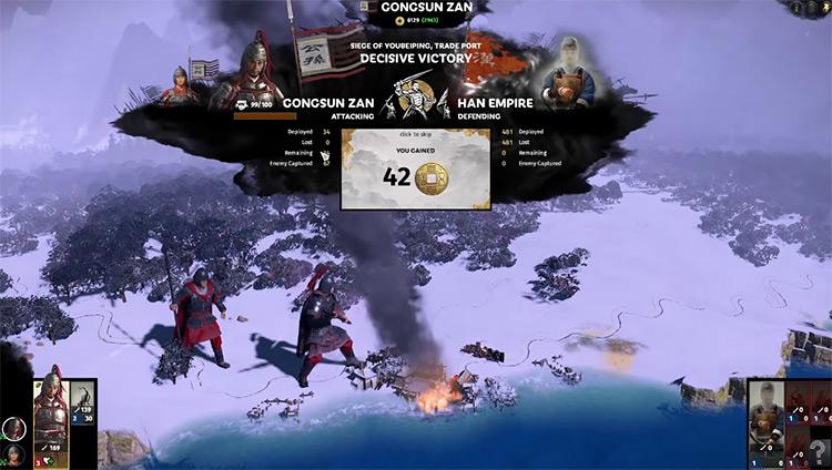 Gongsun Zan Total War: Three Kingdoms Faction Leader