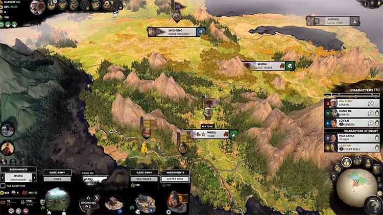 Ma Teng in Total War: Three Kingdoms