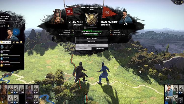 Yuan Shu Total War: Three Kingdoms Faction Leader