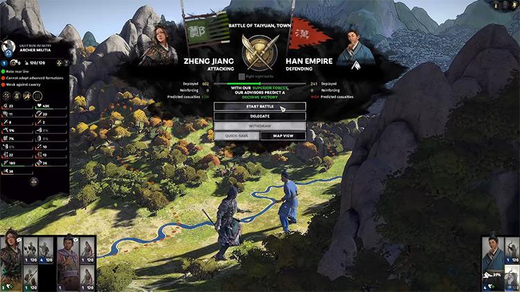 Zheng Jiang in Total War: Three Kingdoms