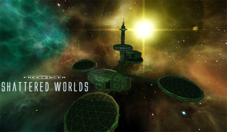 Shattered Worlds: War-torn Freelancer mod