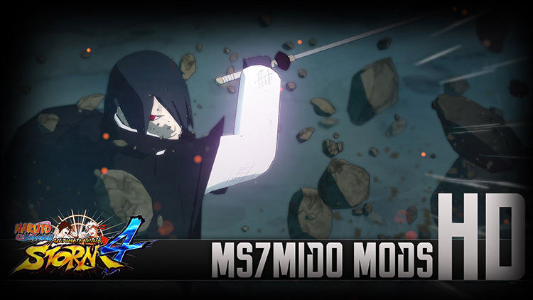 Adult Sasuke ultimate Mangekyou Rinnegan And Custom Rinnegan NSUNS 4 mod