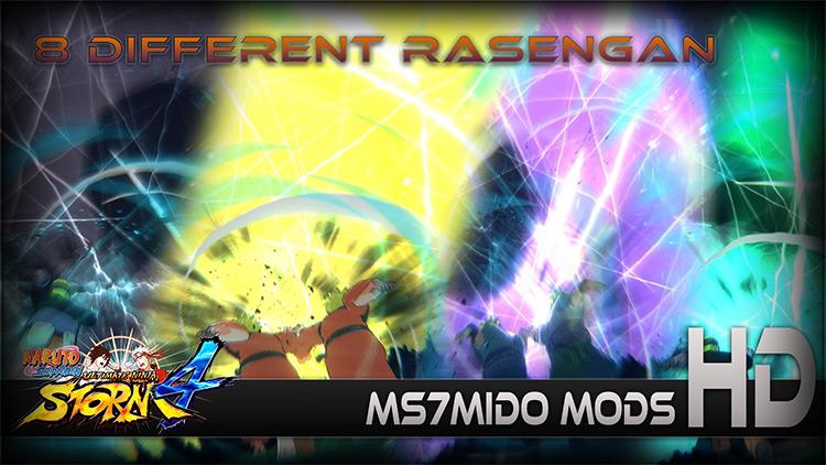 Ultimate Rasengan Pack Naruto Shippuden: Ultimate Ninja Storm 4