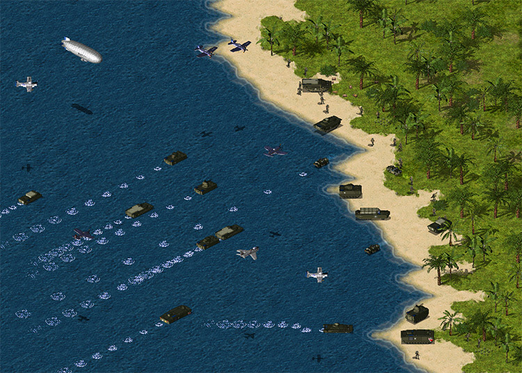 D-day mod for Command & Conquer: Yuri's Revenge