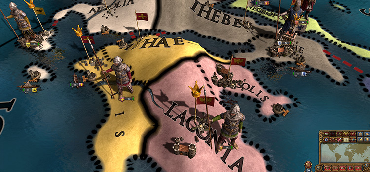 Shattered Europa Mod for Universalis 4