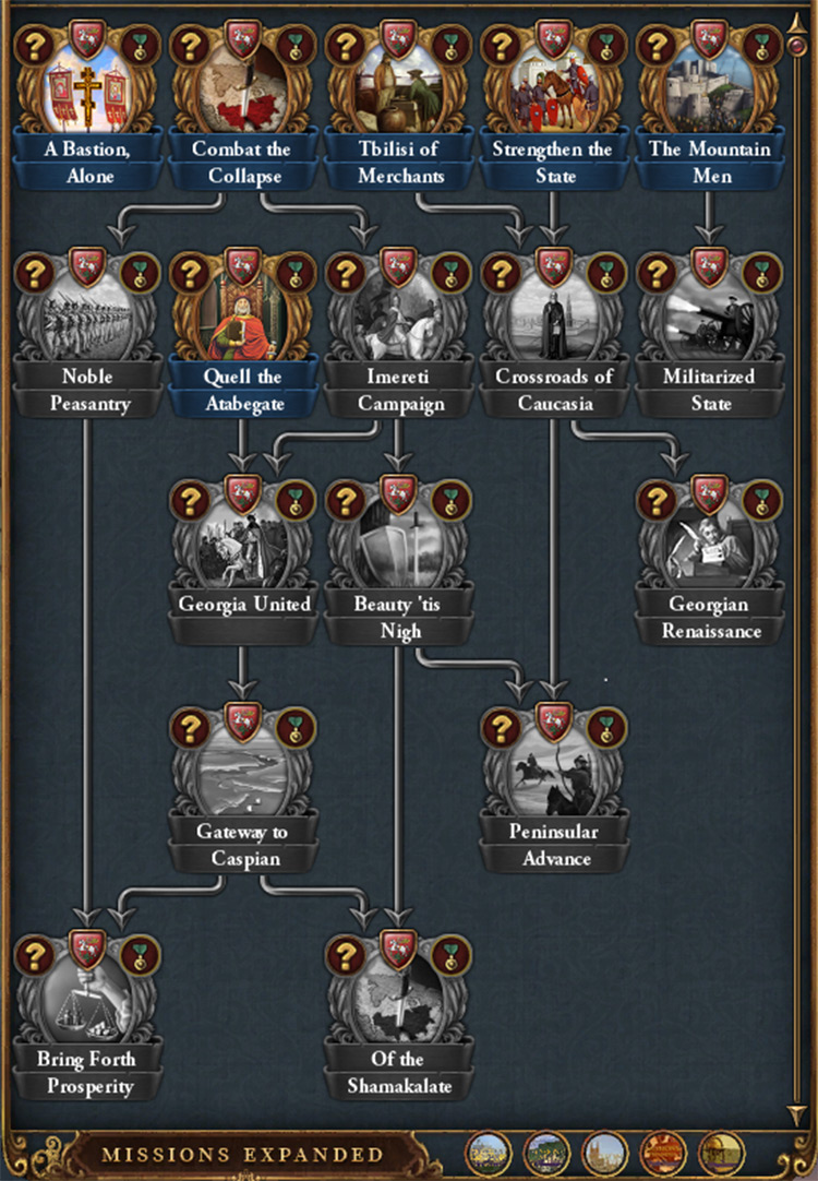 Missions Expanded Europa Universalis IV mod screenshot