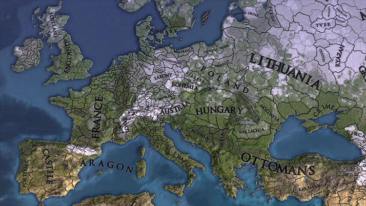 Graphical Map Improvements mod for Europa Universalis IV
