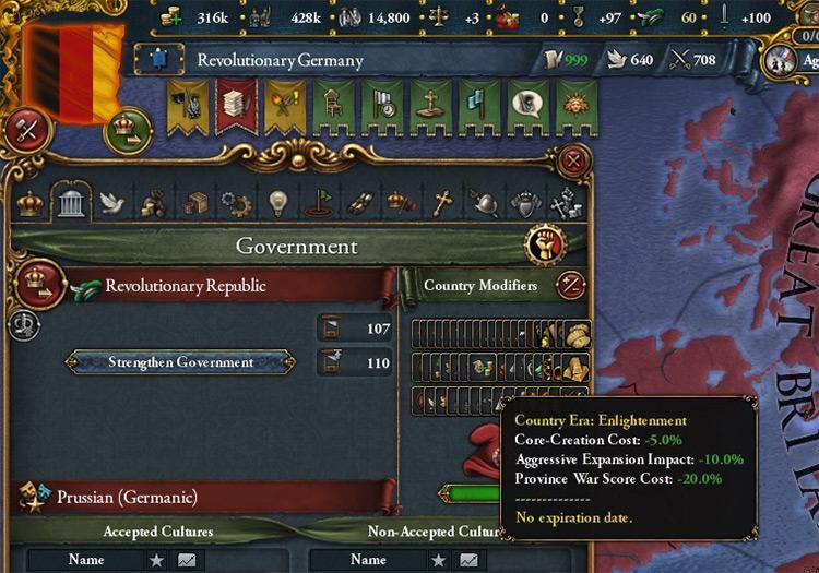 Dynamic Economy Europa Universalis IV mod