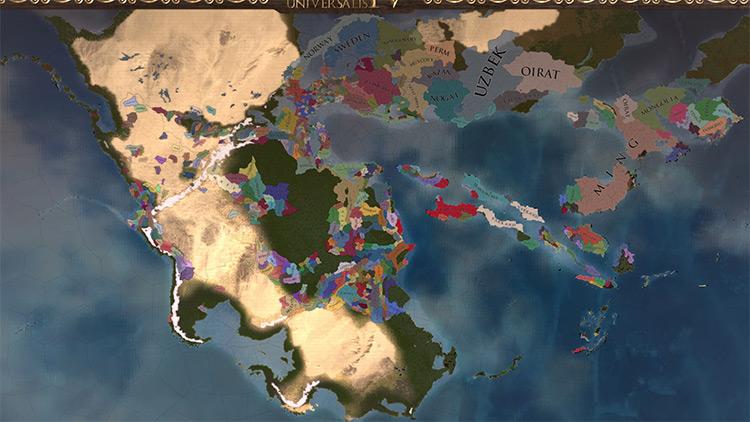 Pangea Universalis mod screenshot