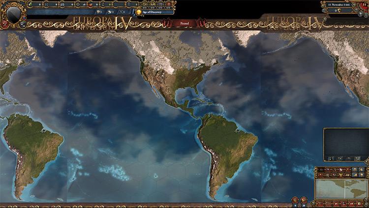 America Only Europa Universalis IV mod screenshot