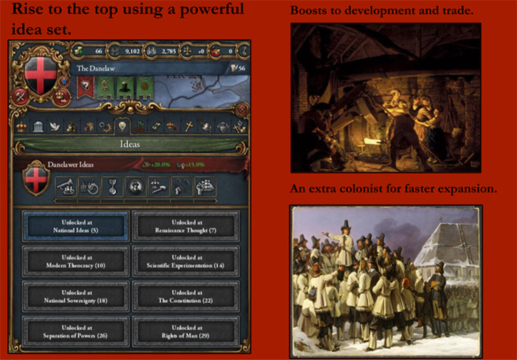 The Danelaw Returns mod for Europa Universalis IV