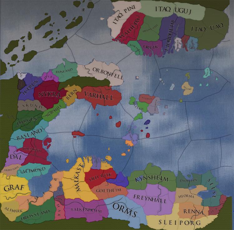 Innea: A Fantasy World Europa Universalis IV mod
