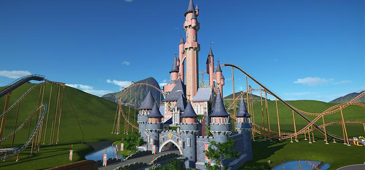 Disneyland Castle Mod for PlanetCoaster PC