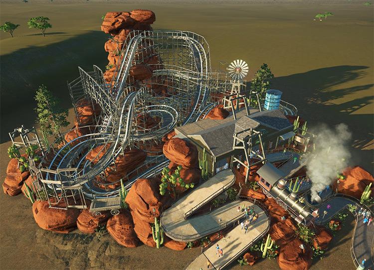 Mount Dread Planet Coaster mod