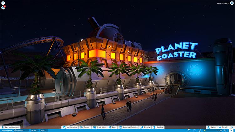 Railgunner mod for Planet Coaster
