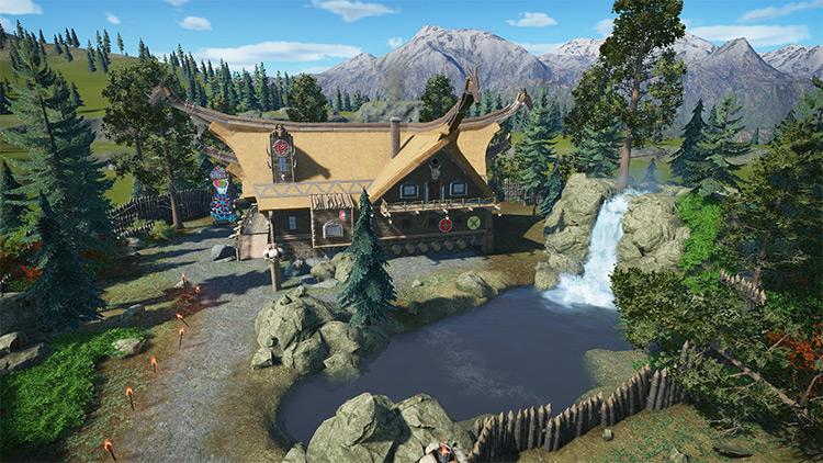 Viking House Planet Coaster mod