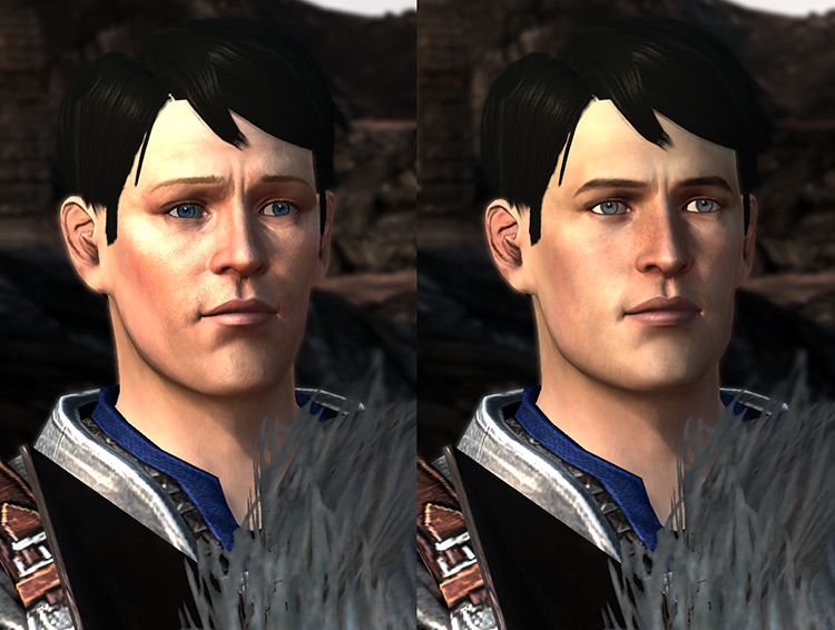 Unique Face Textures for Companions Dragon Age II Mod