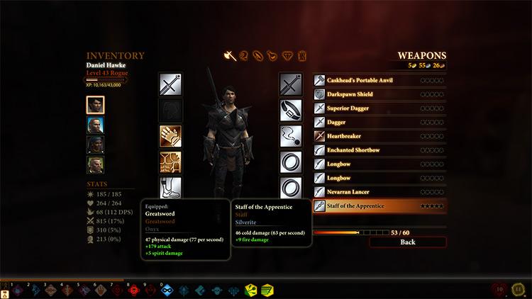 No Restrictions Dragon Age II Mod