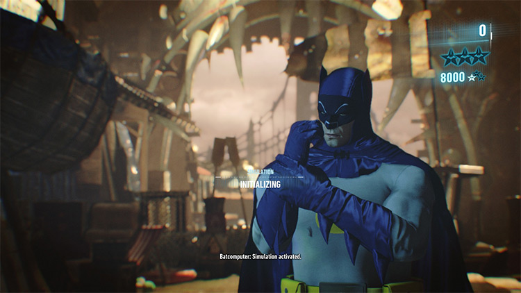 Adam West Batsuit Mod for Batman Arkham Knight