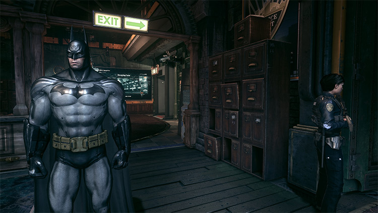 Return to Arkham City Batsuit Mod screenshot