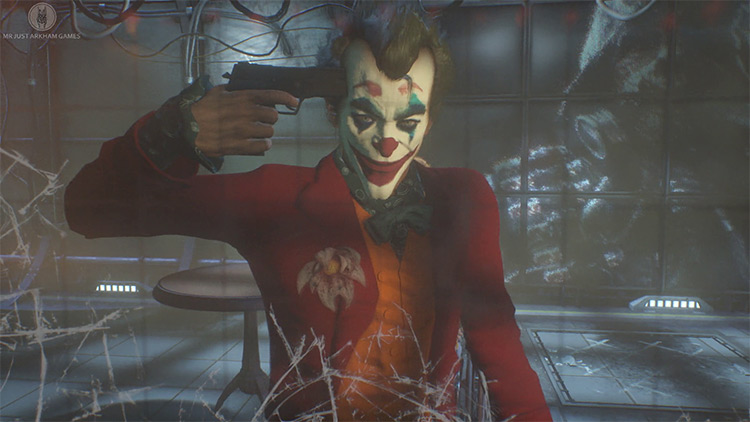 Joaquin Phoenix Joker Mod for Batman Arkham Knight