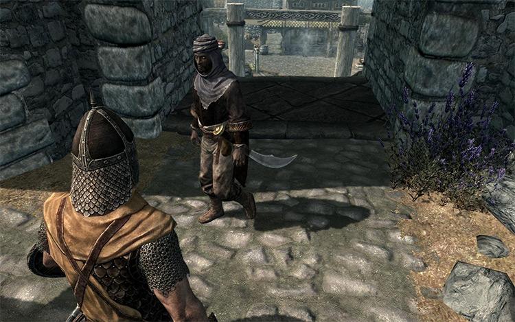 Realistic Redguard mod for Skyrim