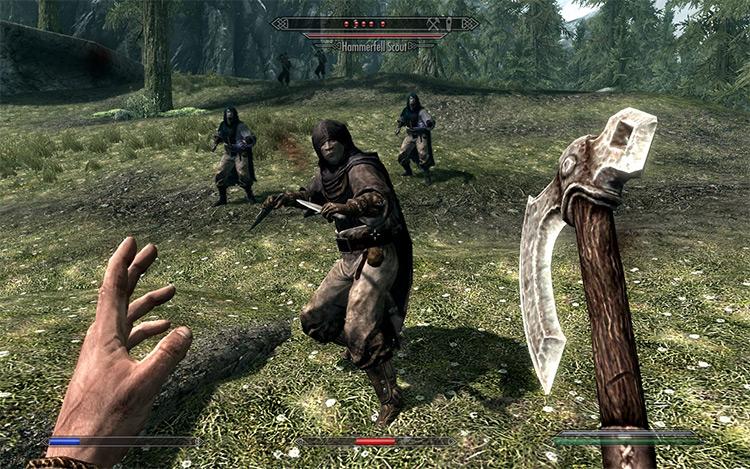Hammerfell Bandits mod for Skyrim