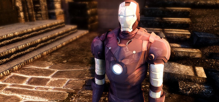 Iron Man Modded for Skyrim