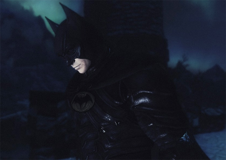 Batman Skyrim Superhero mod