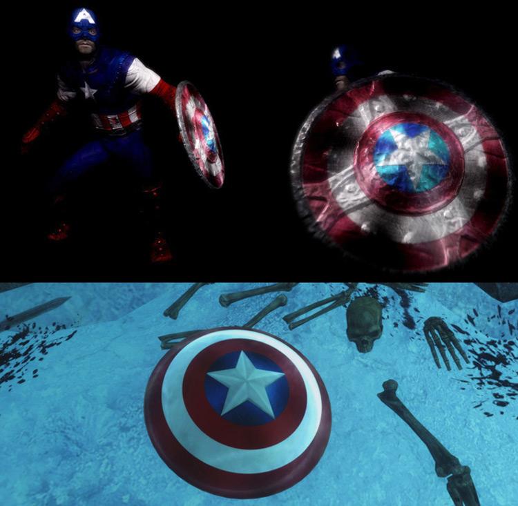 Captain America Skyrim mod