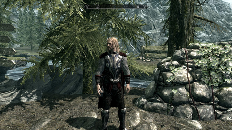 Thor Follower mod for Skyrim