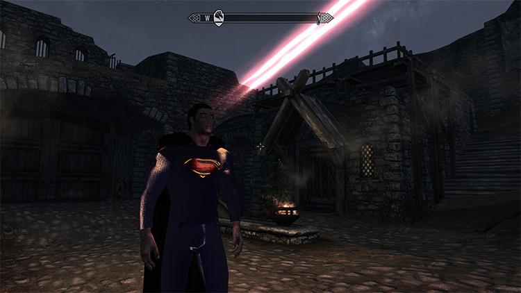 Kryptonian Race Skyrim mod