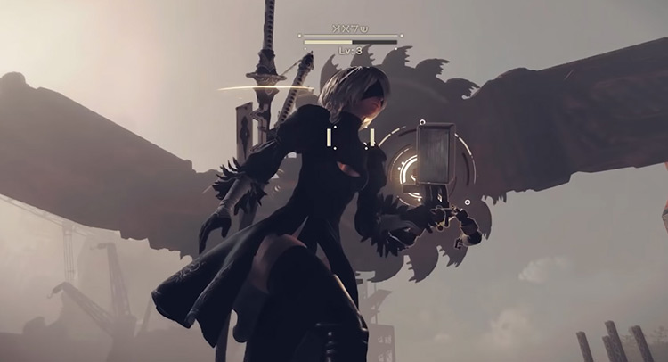 Auto-Heal from Nier Automata