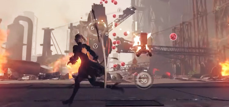 Counter from Nier Automata