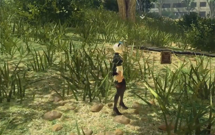 Deadly Heal in Nier Automata