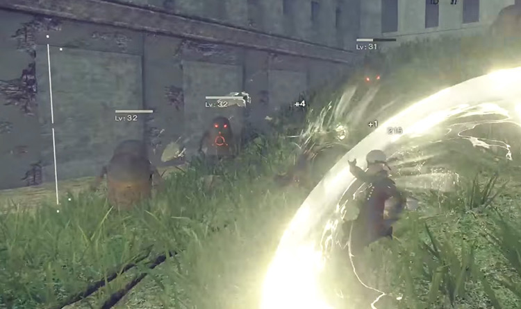 Charge Attack from Nier Automata