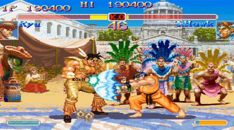 Super Street Fighter II Turbo gameplay screenshot