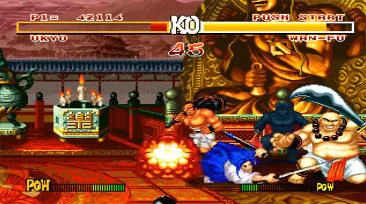 Samurai Shodown 3DO screenshot
