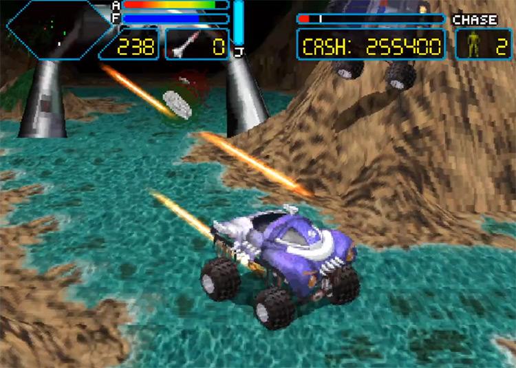 Off-World Interceptor 3DO screenshot