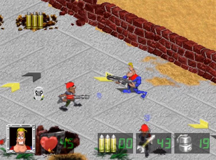 Captain Quazar 3DO gameplay