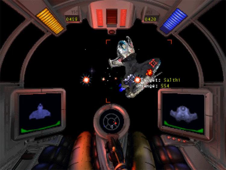Super Wing Commander 3DO gameplay