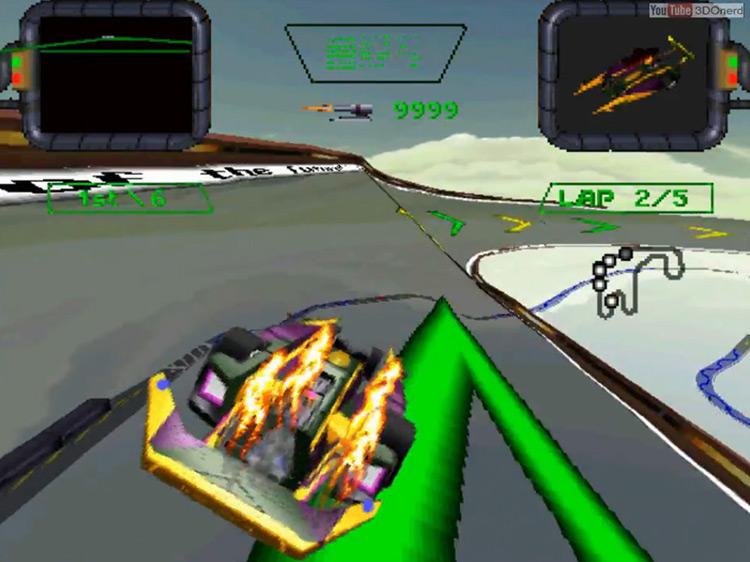 Crash 'n Burn game screenshot