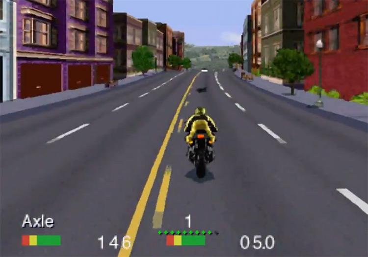 Road Rash 3DO screenshot